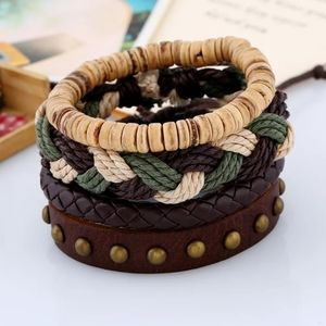 Boho Multilayer Braided Rope Bracelet